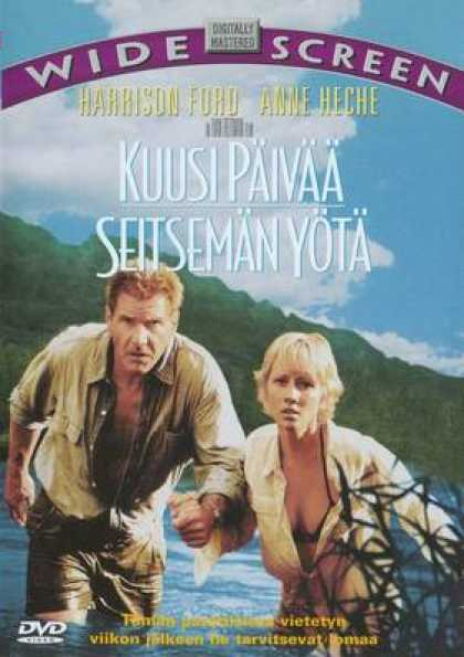 Finnish DVDs - Six Days Seven Nights