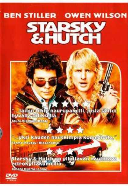 Finnish DVDs - Starsky And Hutch