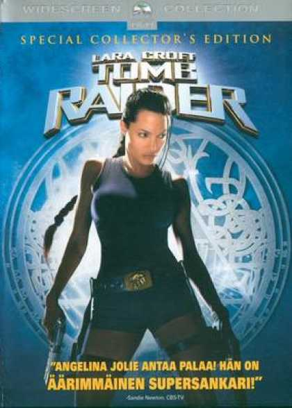 Finnish DVDs - Tomb Raiders Special Collectors