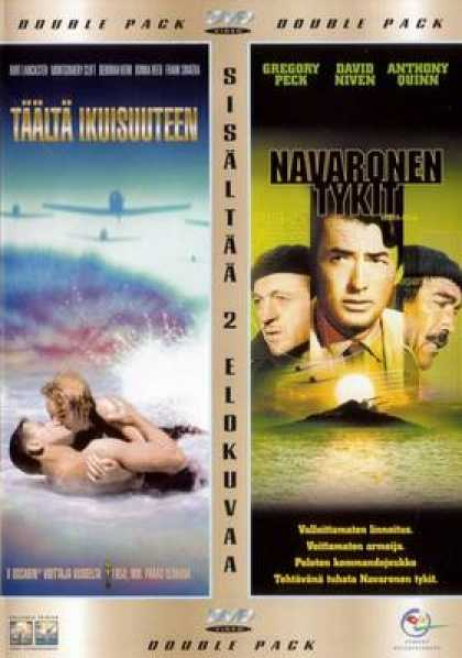 Finnish DVDs - From Here To Eternity Guns Of Navarone