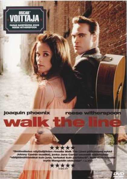 Finnish DVDs - Walk The Line