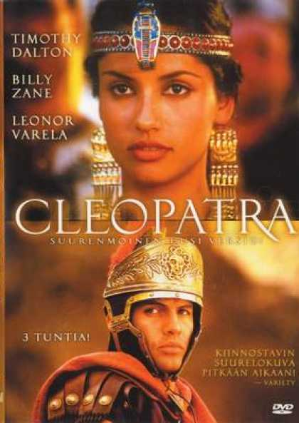 Finnish DVDs - Cleopatra