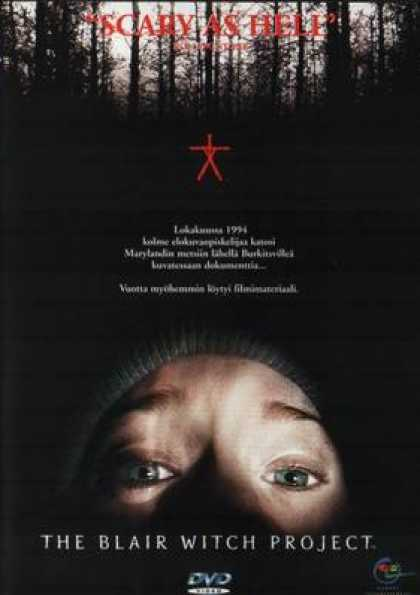 Finnish DVDs - The Blair Witch Project