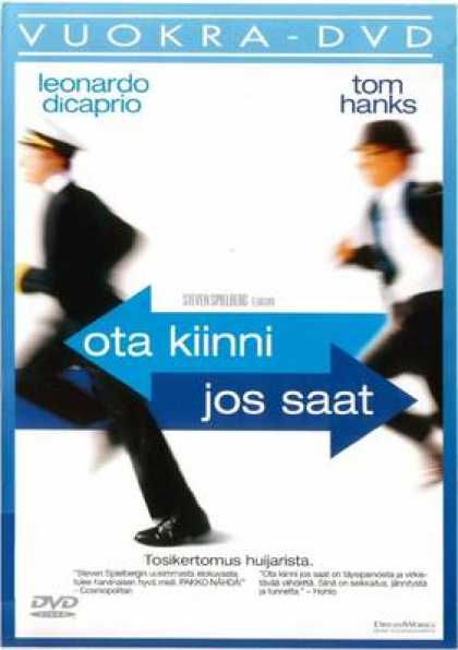Finnish DVDs - Catch Me If You Can