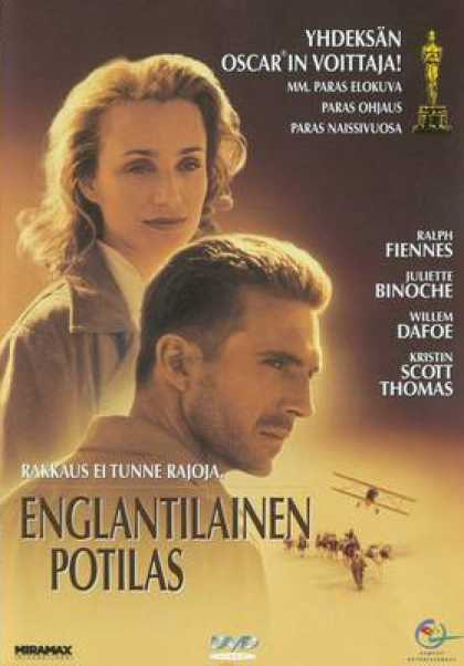 Finnish DVDs - The English Patient