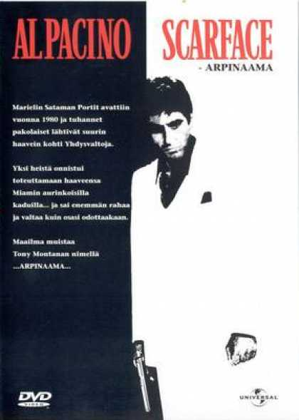 Finnish DVDs - Scarface