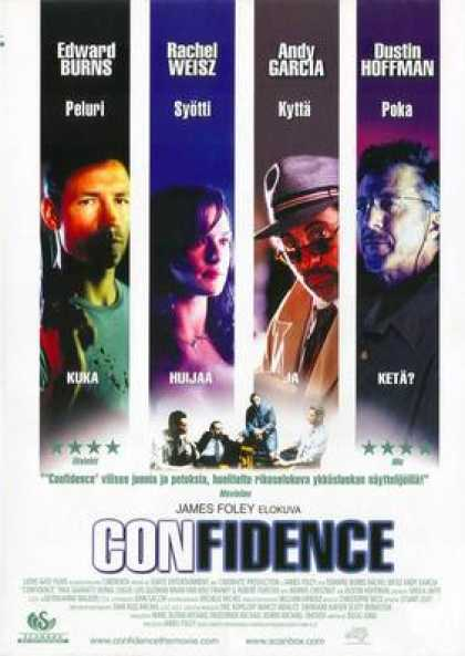 Finnish DVDs - Confidence