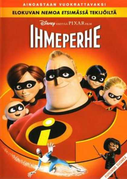 Finnish DVDs - The Incredibles