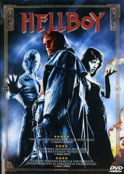 Finnish DVDs - Hellboy