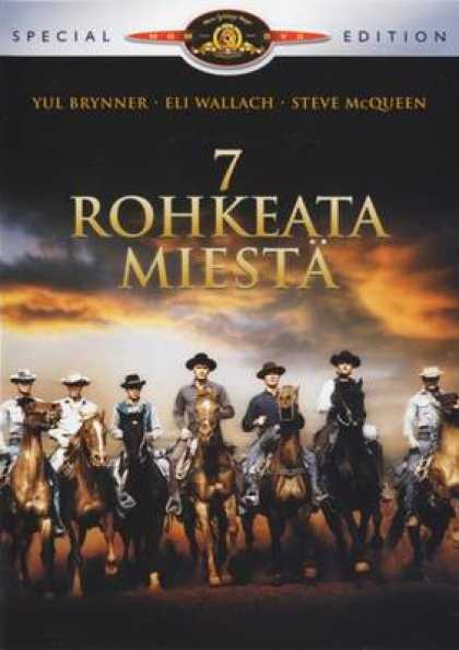 Finnish DVDs - The Magnificent Seven