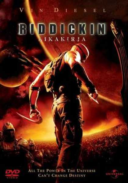 Finnish DVDs - The Chronicles Of Riddick