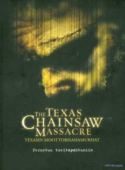 Finnish DVDs - The Texas Chainsaw Massacre