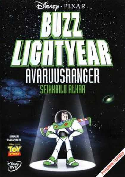 Finnish DVDs - Buzz Lightyear Of Star Command