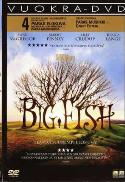 Finnish DVDs - Big Fish