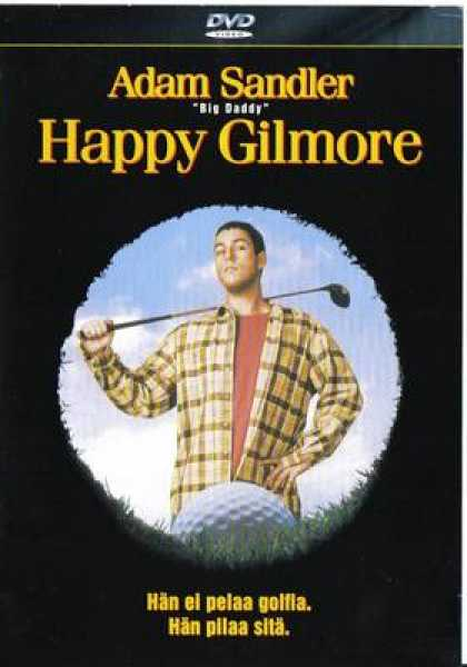 Finnish DVDs - Happy Gilmore