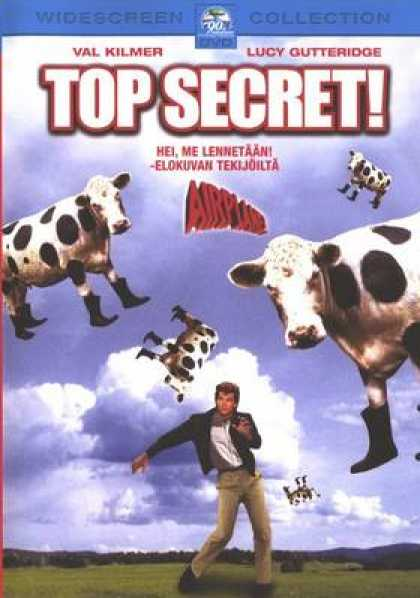 Finnish DVDs - Top Secret