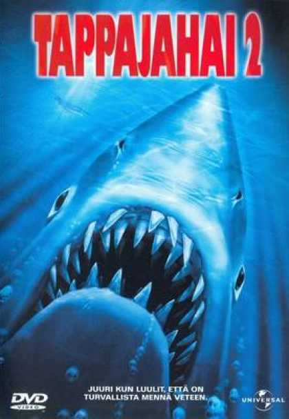 Finnish DVDs - Jaws 2