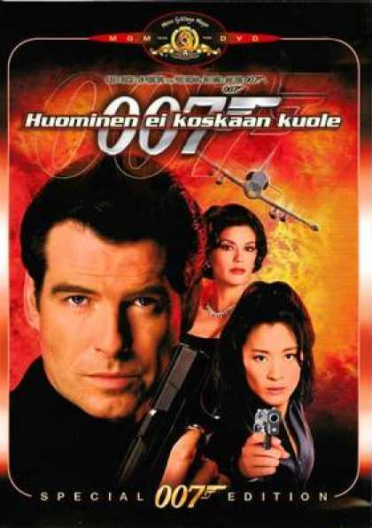 Finnish DVDs - James Bond Tomorrow Never Dies