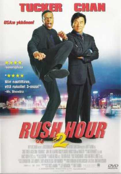 Finnish DVDs - Rush Hour 2