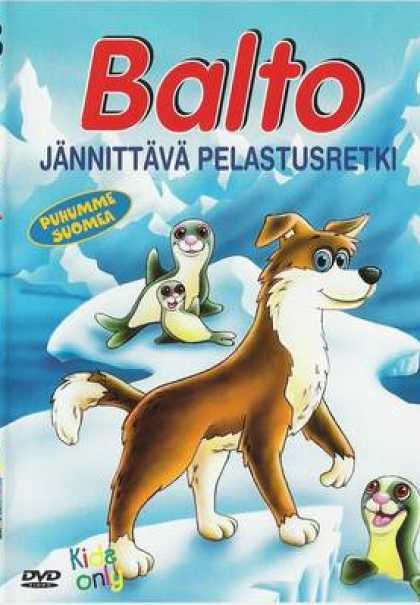Finnish DVDs - Balto Cartoon