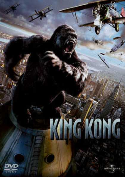 Finnish DVDs - King Kong