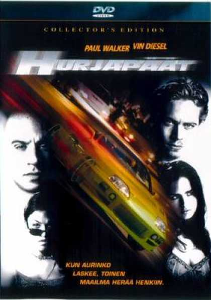 Finnish DVDs - The Fast And The Furious