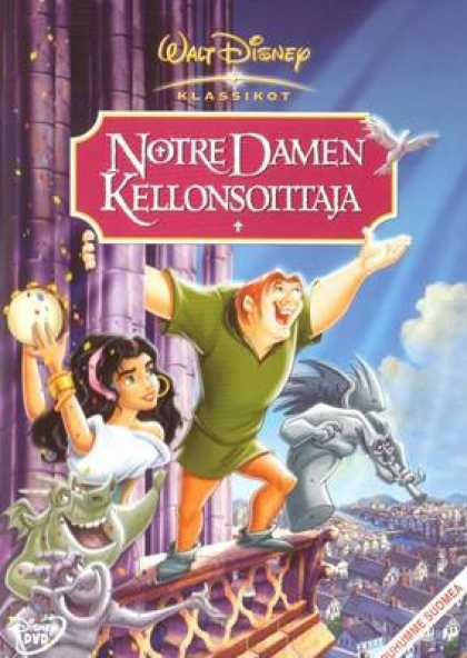 Finnish DVDs - The Hunchback Of Notre Dame