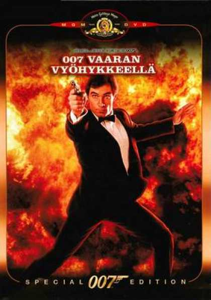 Finnish DVDs - James Bond The Living Daylights