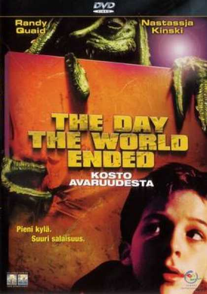Finnish DVDs - The Day The World Ended