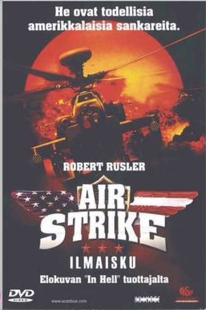 Finnish DVDs - Air Strike