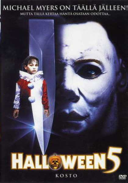 Finnish DVDs - Halloween 5