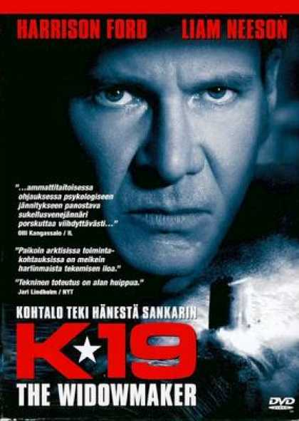 Finnish DVDs - K19: The Widowmaker