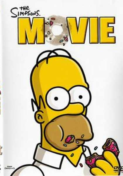 Finnish DVDs - The Simpson Movie