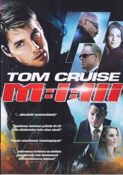 Finnish DVDs - Mission Impossible 3