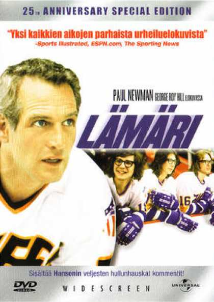 Finnish DVDs - Slap Shot