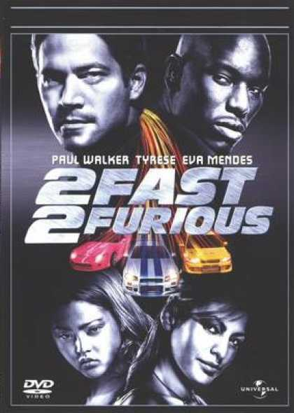 Finnish DVDs - 2 Fast 2 Furious
