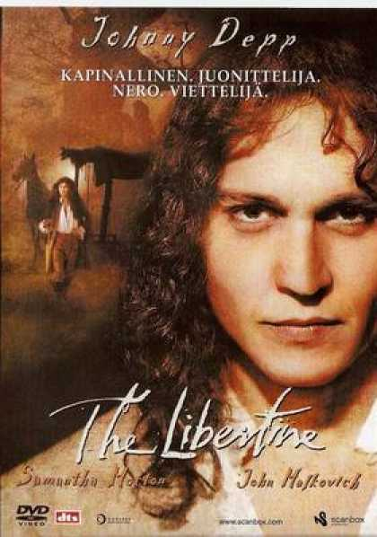 Finnish DVDs - The Libertine