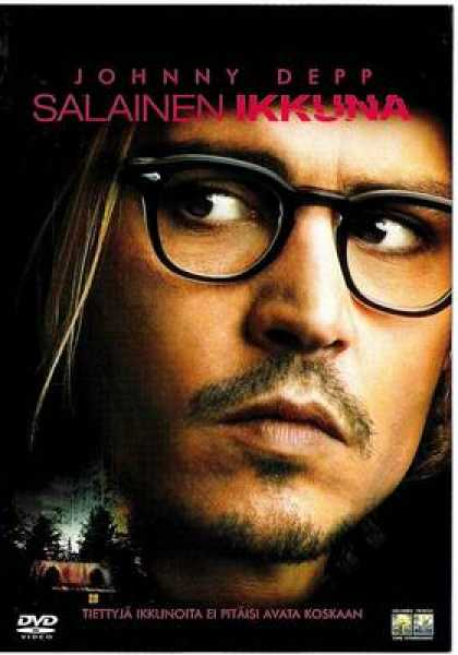 Finnish DVDs - Secret Window