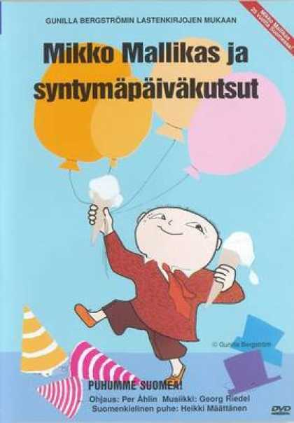 Finnish DVDs - A Party Alfie Atkins