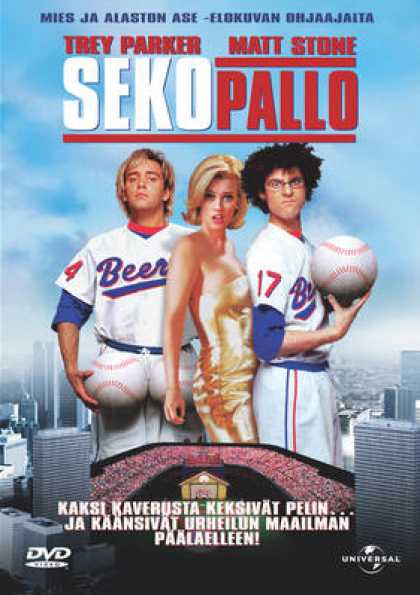 Finnish DVDs - Baseketball