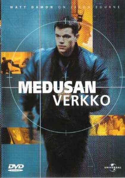 Finnish DVDs - The Bourne Identity