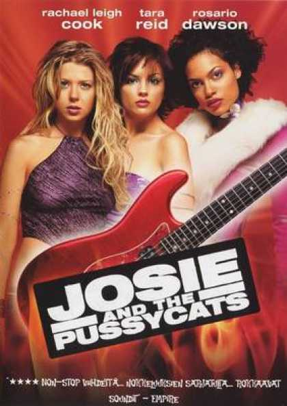 Finnish DVDs - Josie And The Pussycats