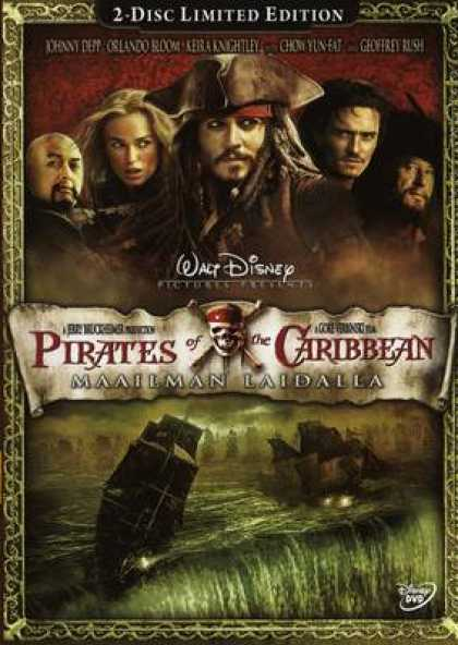 Finnish DVDs - Pirates Of Caribbean At World's End