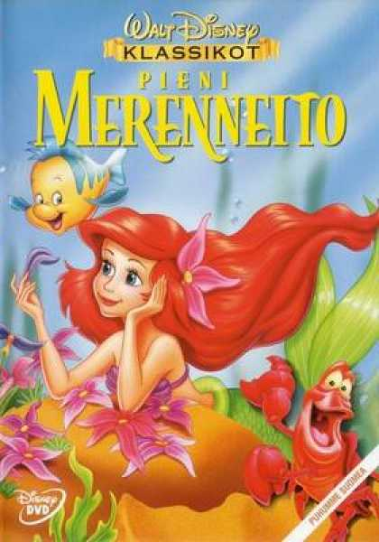 Finnish DVDs - The Little Mermaid