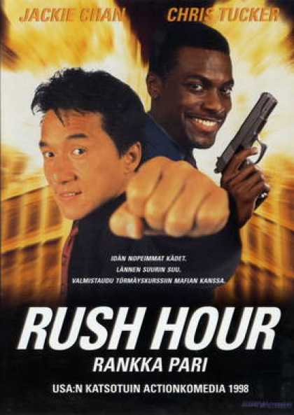 Finnish DVDs - Rush Hour 1