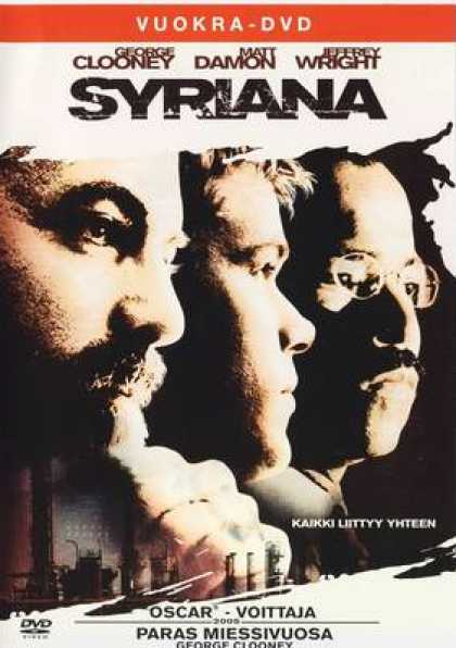 Finnish DVDs - Syriana