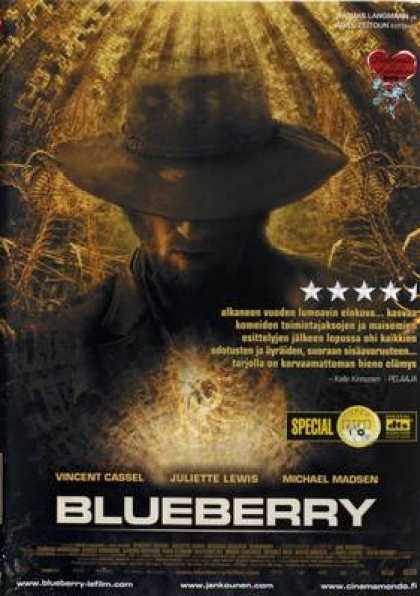 Finnish DVDs - Blueberry