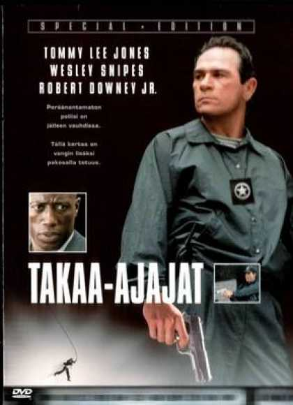 Finnish DVDs - U.S. Marshals