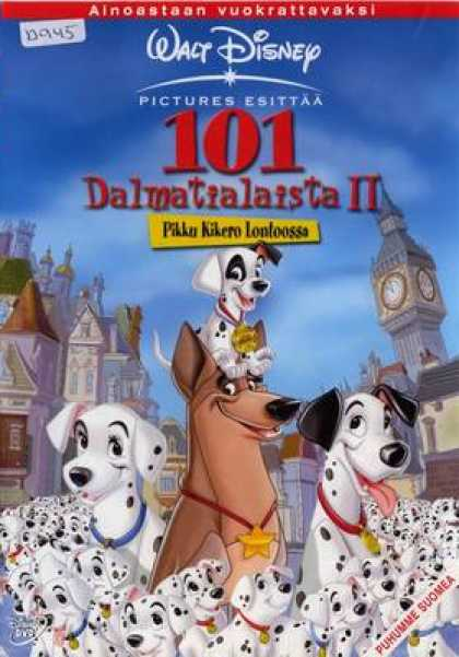Finnish DVDs - 101 Dalmatians 2