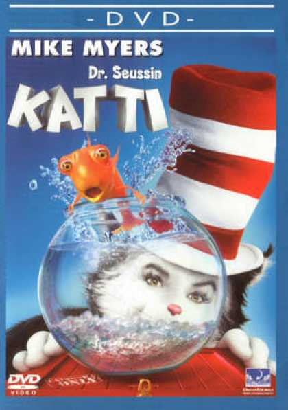 Finnish DVDs - Dr. Seuss The Cat In The Hat
